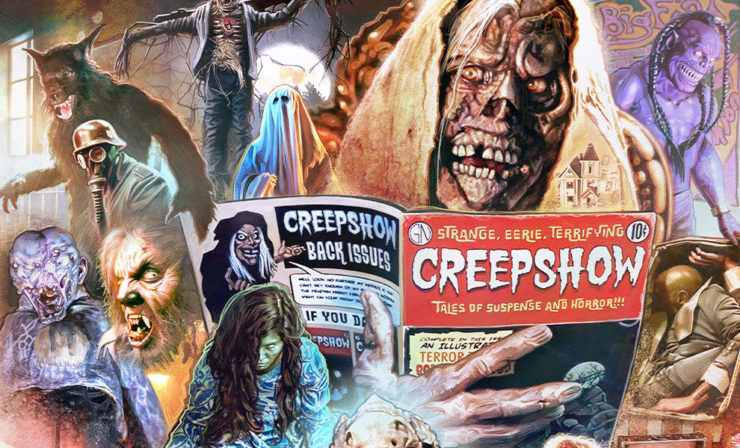 Brian Rood's Creepshow Fine Art Print is Strange, Eerie, and Terrifying!