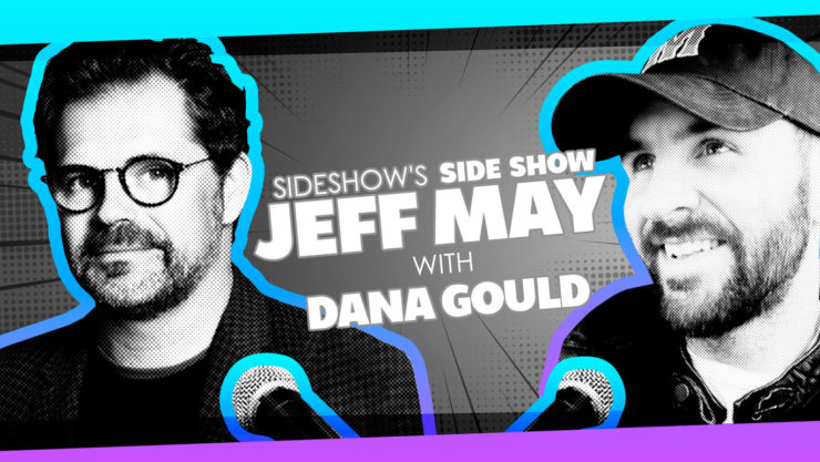 Writer/Actor Dana Gould and Jeff May Chat Classic Monsters and More on Sideshow's Side Show