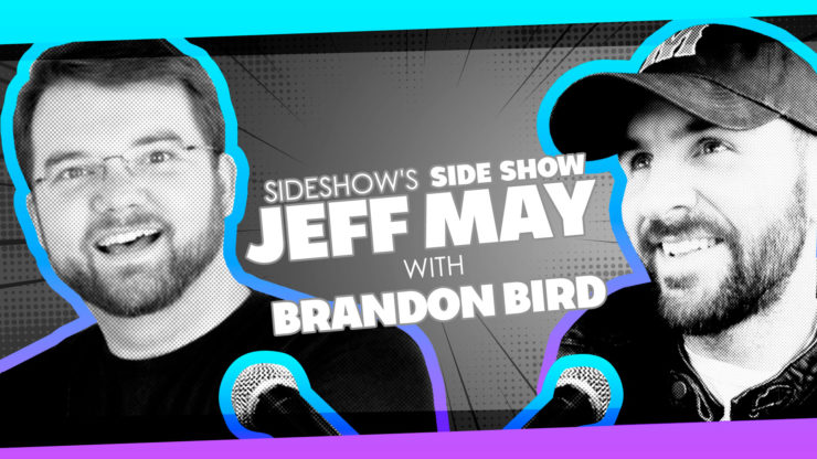Artist Brandon Bird Talks Going Viral, Drawing Kelsey Grammer, and More on Sideshow's Side Show with Jeff May!
