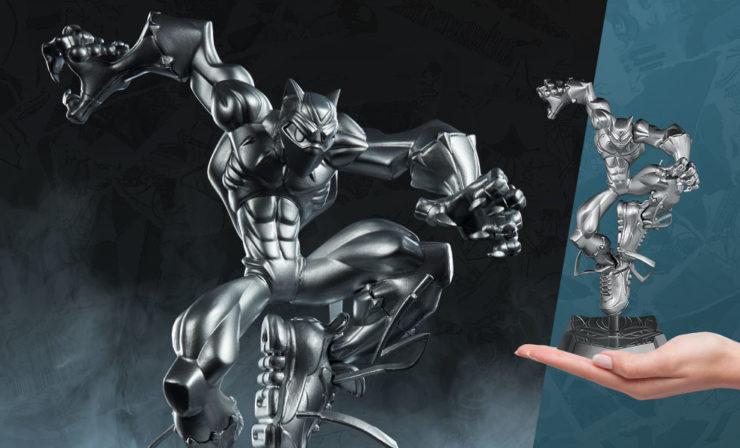 T'Challa Vibranium Edition Designer Toy- Tracy Tubera
