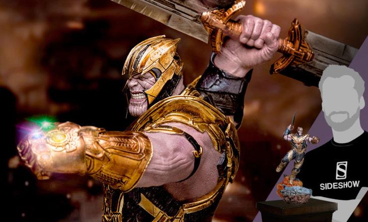Thanos Deluxe Statue- Avengers Endgame