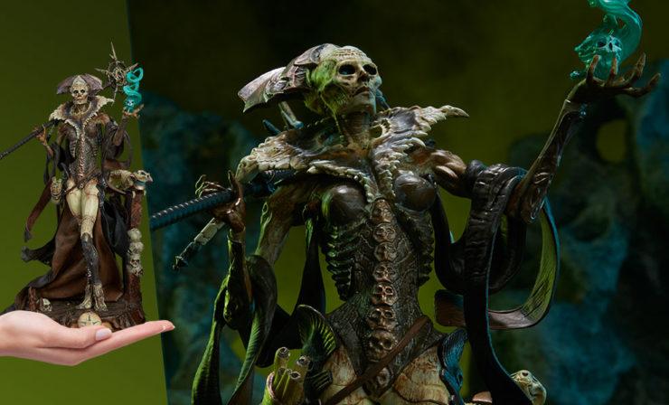 Xiall: Osteomancer's Vision Prestige Statuette