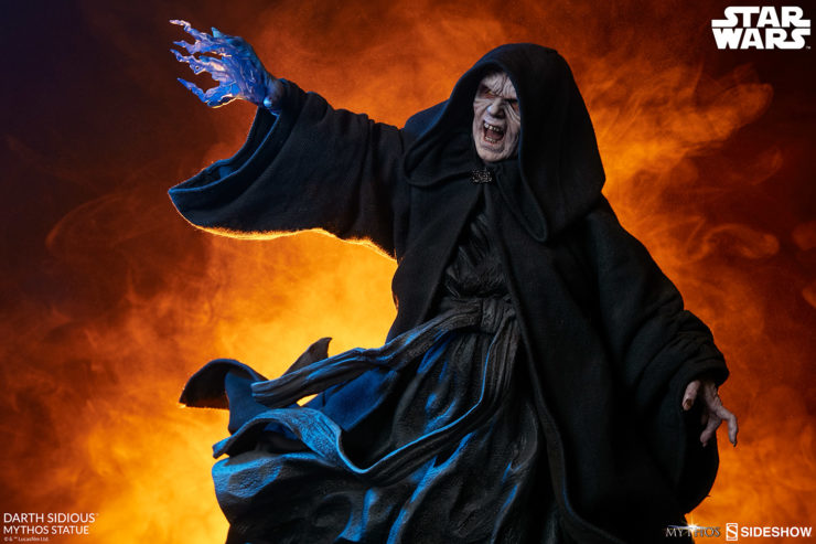Fulfill Your Destiny with the Darth Sidious Star Wars Mythos Statue
