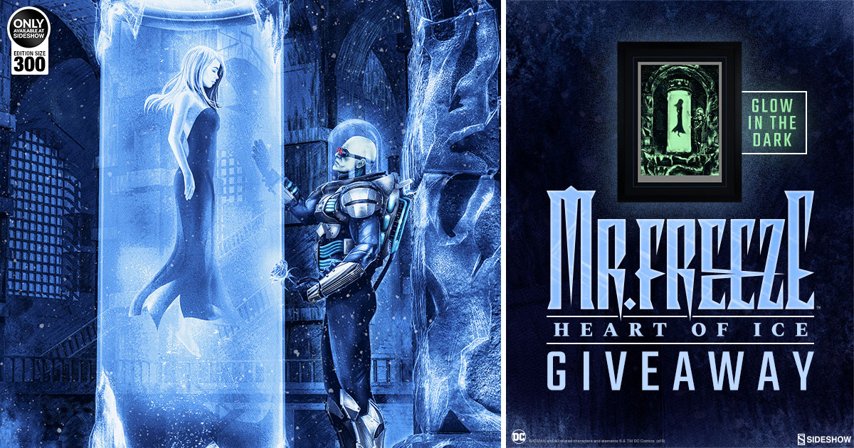 Mr Freeze: Heart of Ice Print Giveaway