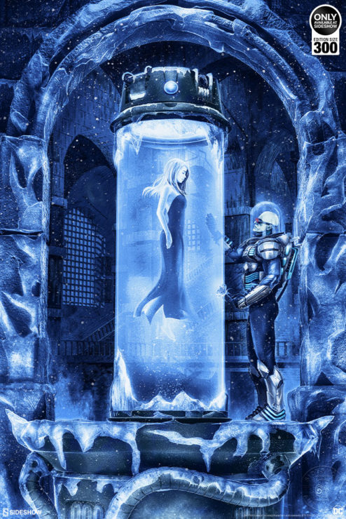 Cryogenically Capture the NewMr. Freeze: Heart of Ice Fine Art Print by Chris Skinner