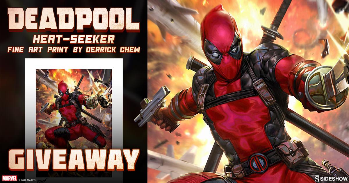 Deadpool Heat-Seeker Fine Art Print Giveaway