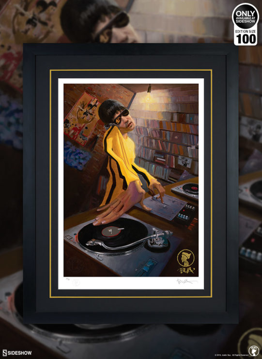 BUA Brings It with The DJ Bruce Lee Fine Art Print