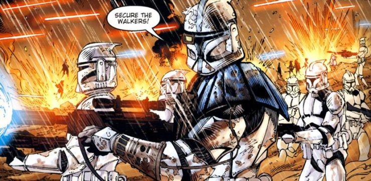 Top 10 Clones in Comics- Star Wars Clones