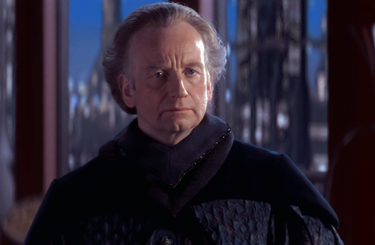 Emperor Palpatine from the Prequel Star Wars trilogy