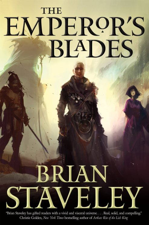 Emperor's Blades by Brian Stavely Book Cover