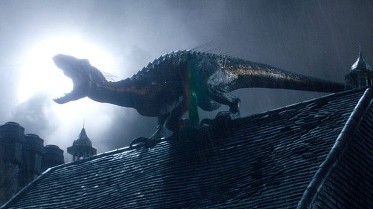 Dinosaur from Jurassic World: Fallen Kingdom