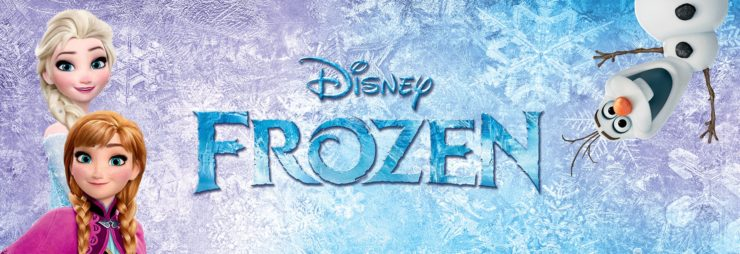 Disney's Frozen Title Card
