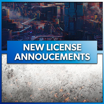 New License Announcements