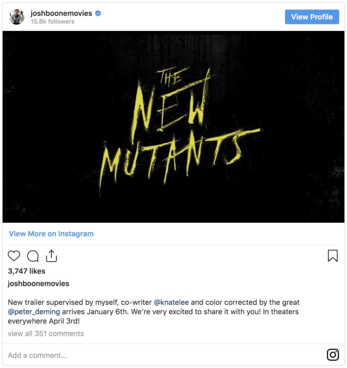 New Mutants Trailer Coming Soon, Young Luke Skywalker Casting, and more!