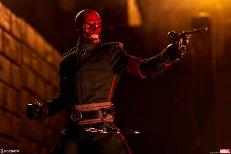 Conquer the World with New Photos of the Red Skull Sixth Scale Figure
