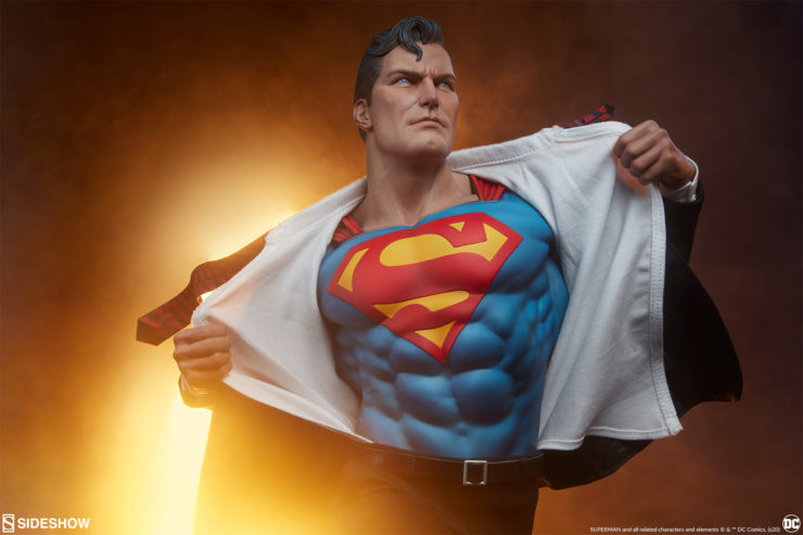 Answer the Call of the Superman: Call to Action Premium Format™ Figure!