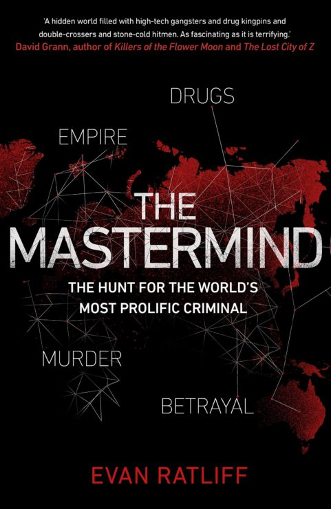 The Mastermind book cover by Evan Ratliff