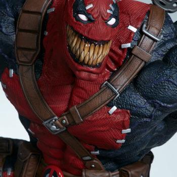 Closeup on Venompool's smile