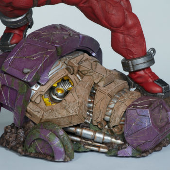Sentinel's head sideview