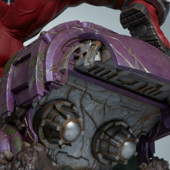 The bottom of the sentinel's head