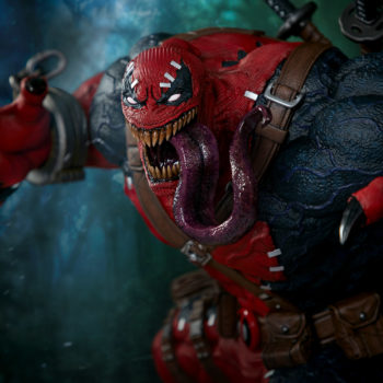 Venompool pulling back ready to attack