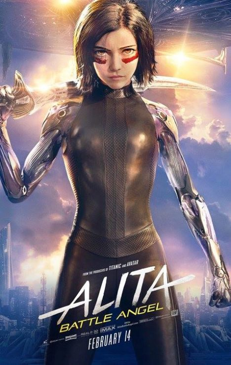 Alita: Battle Angel- Best Indie Comic Book Movies
