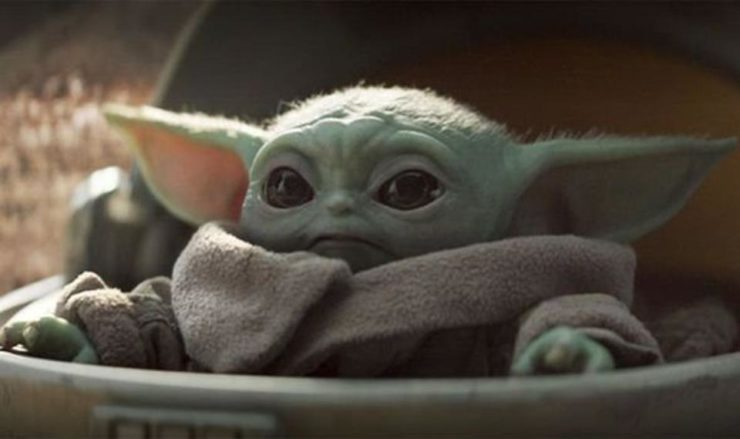 Baby Yoda from The Mandalorian