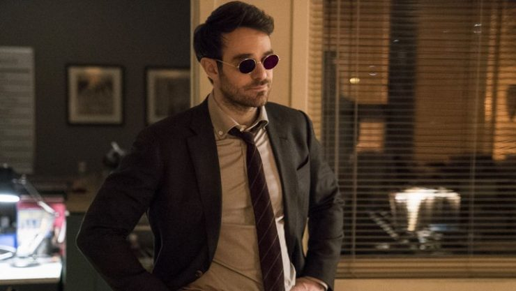 Charlie Cox in a Suit as Matt Murdock in Netflix's Daredevil