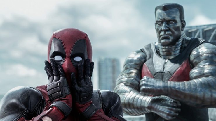 Deadpool and Colossus From the Deadpool Film