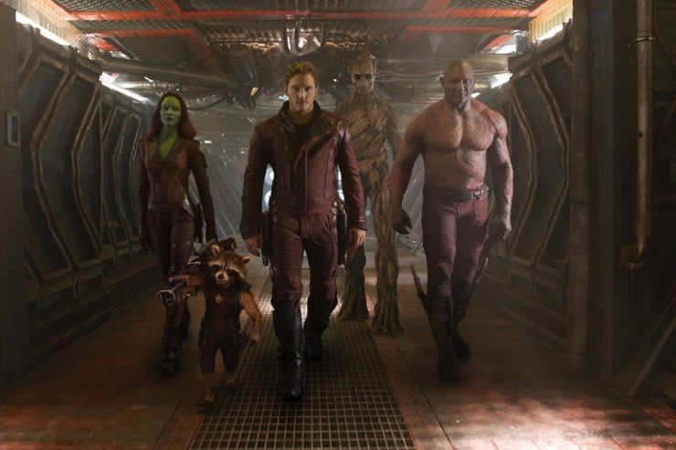 Guardians of the Galaxy Character Lineup
