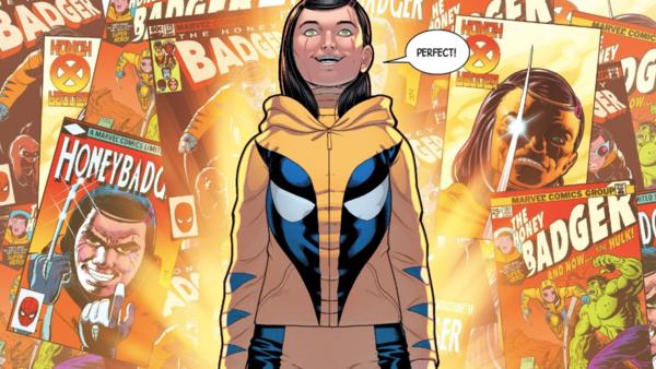 Top 10 Clones in Comics- Honey Badger