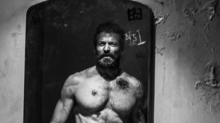 Hugh Jackman as Wolverine in 2017's Logan