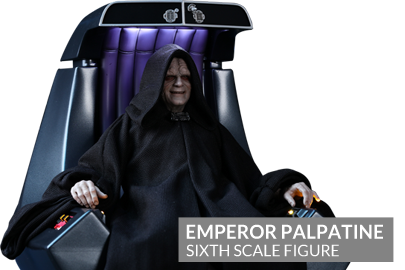 Emperor Palpatine Sixth Scale Figure