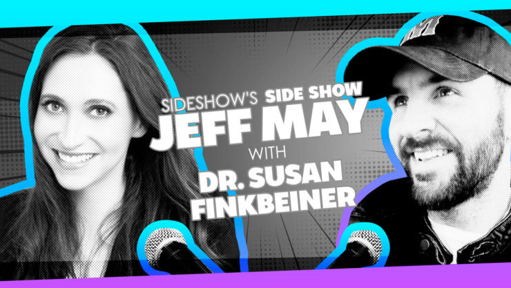 Entomologist and Model Dr. Susan Finkbeiner Discusses Renaissance Lifestyle on Sideshow's Side Show with Jeff May