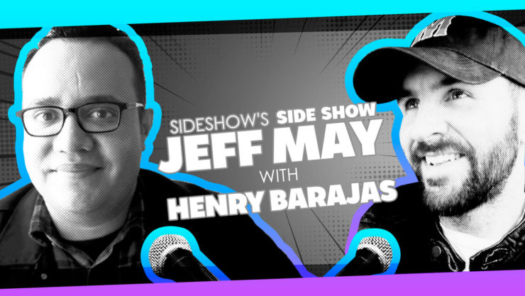 Top Cow's Henry Barajas Joins Jeff May to Chat Standup Comedy and Comics on Sideshow's Side Show Podcast