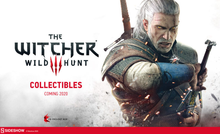 Sideshow Announces The Witcher 3 License- 12 Days of Sideshow!