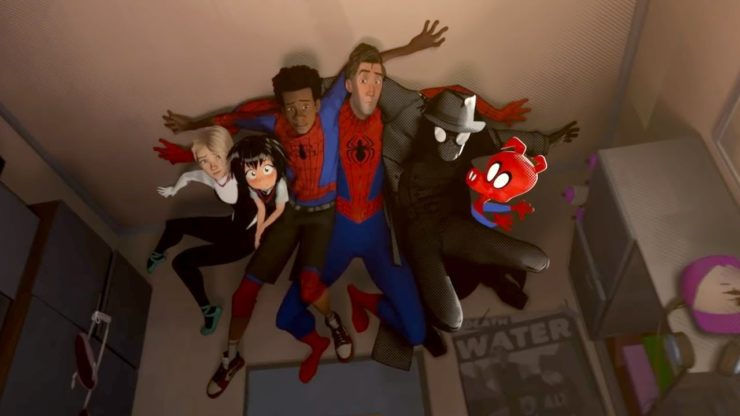Spider-Man Into the Spider-Verse Character Lineup