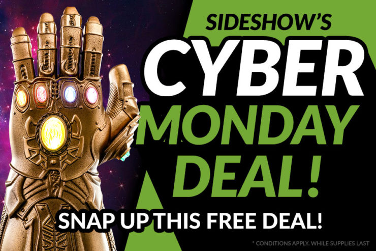 Free $99 Thanos Gauntlet with Qualifying Purchases! Cyber Monday 2019