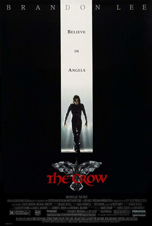 The Crow- Best Indie Comic Book Movies
