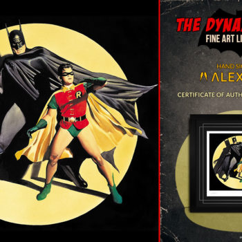 The Dynamic Duo! Fine Art Lithograph