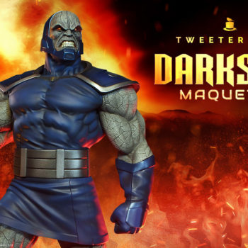 Darkseid Maquette by Tweeterhead