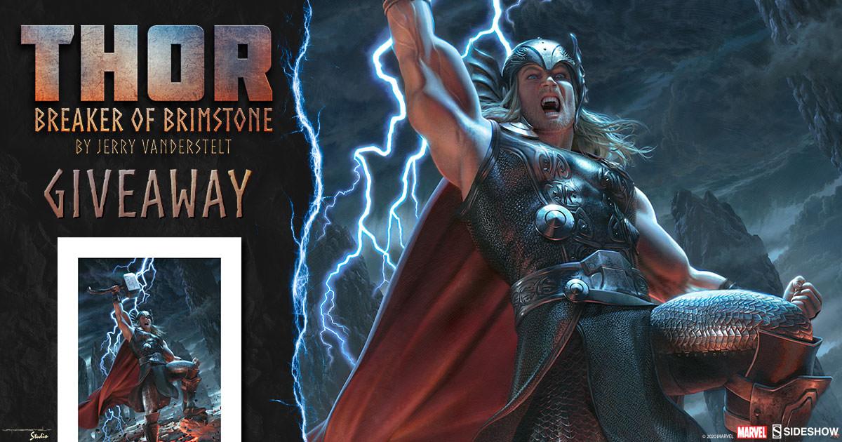 Thor: Breaker of Brimstone Fine Art Print Giveaway