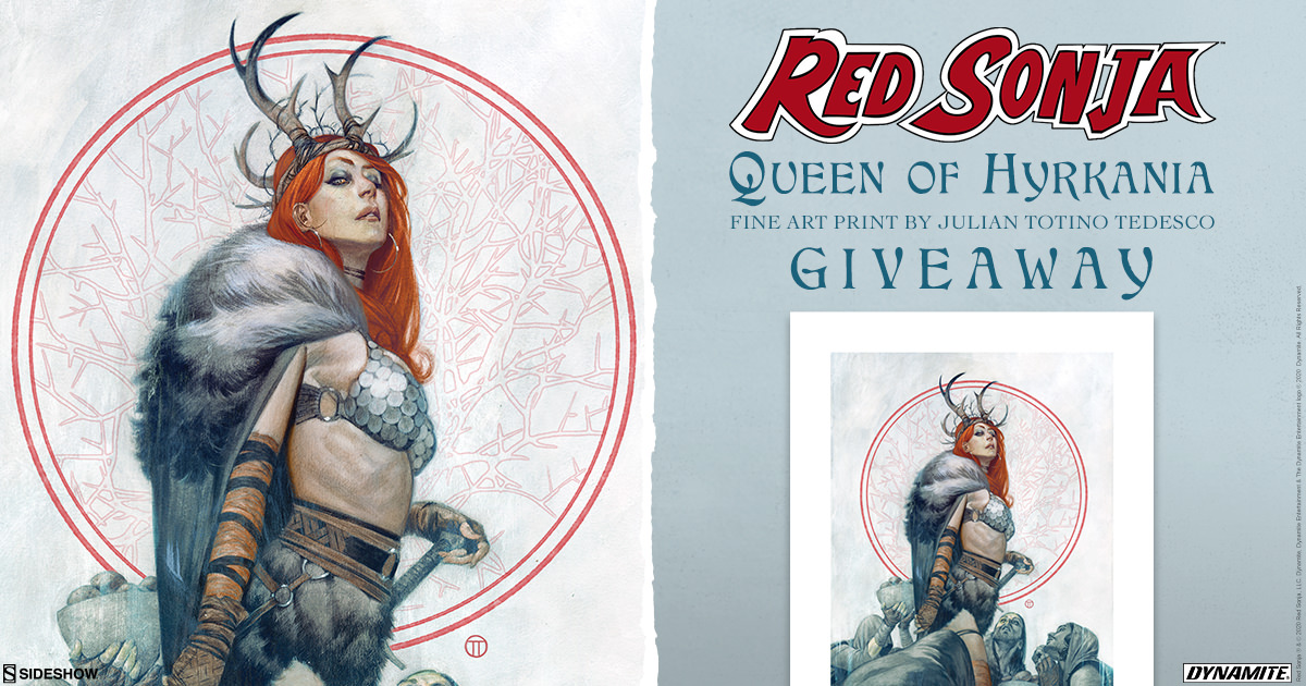 Red Sonja: Queen of Hyrkania Print Giveaway