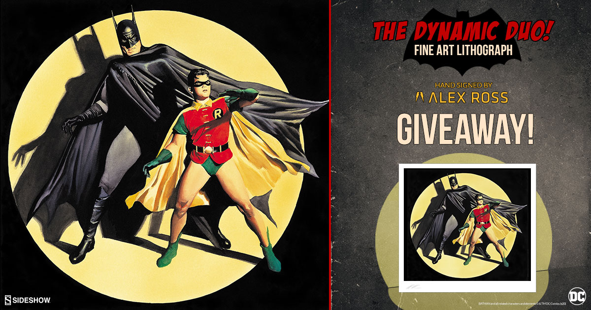 The Dynamic Duo! Fine Art Lithograph Giveaway