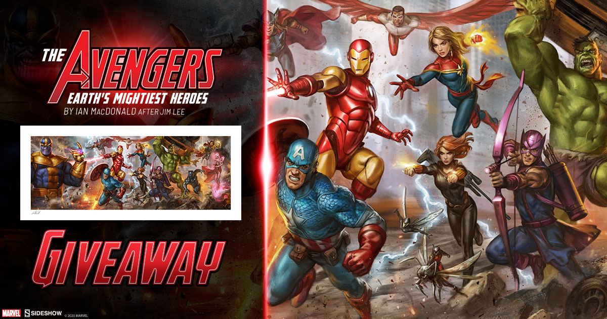 The Avengers: Earth's Mightiest Heroes Print Giveaway