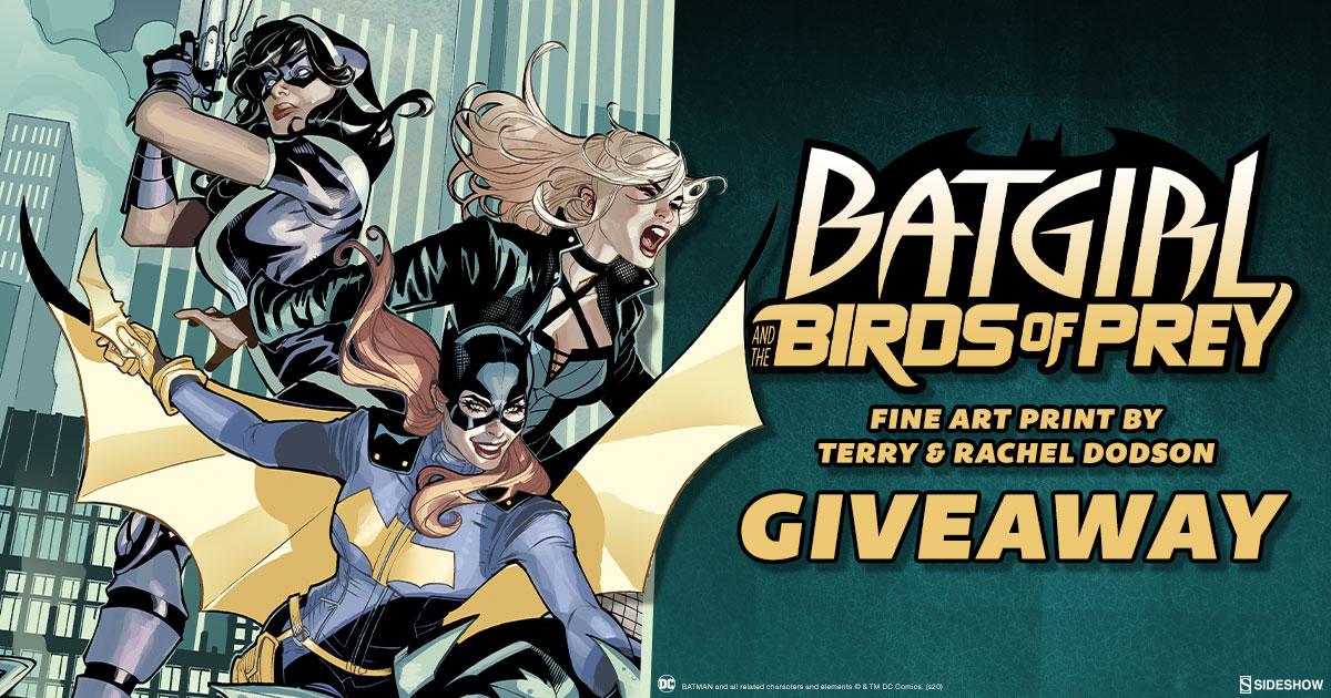 Batgirl & The Birds of Prey Print Giveaway