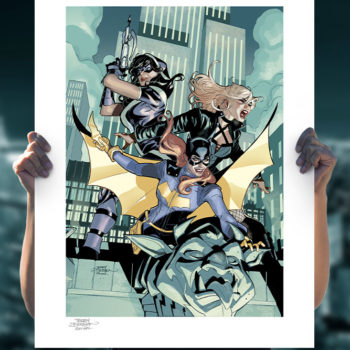 Batgirl and the Birds of Prey Fine Art Print Unframed