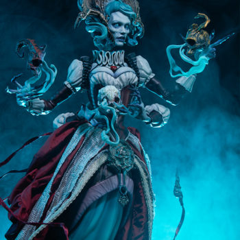 Ellianastis The Great Oracle Premium Format Figure looking up right view