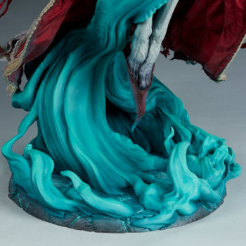 Ellianastis The Great Oracle Premium Format Figure close up on swirling base front view