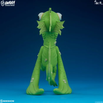 Fish Face Designer Toy full view back